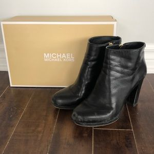 Michael Kors leather booties - size 5.5